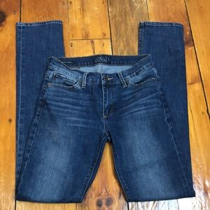 Lucky Brand Dark Wash Brooke Straight Jeans